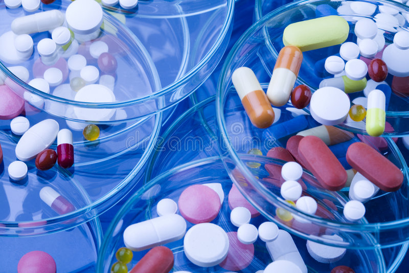 Pharmacology Royalty Free Stock Photos