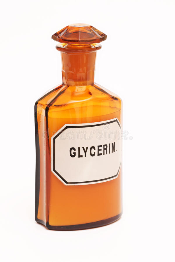 Pharmacy, glass bottle, Medicine, on a white background royalty free stock photos