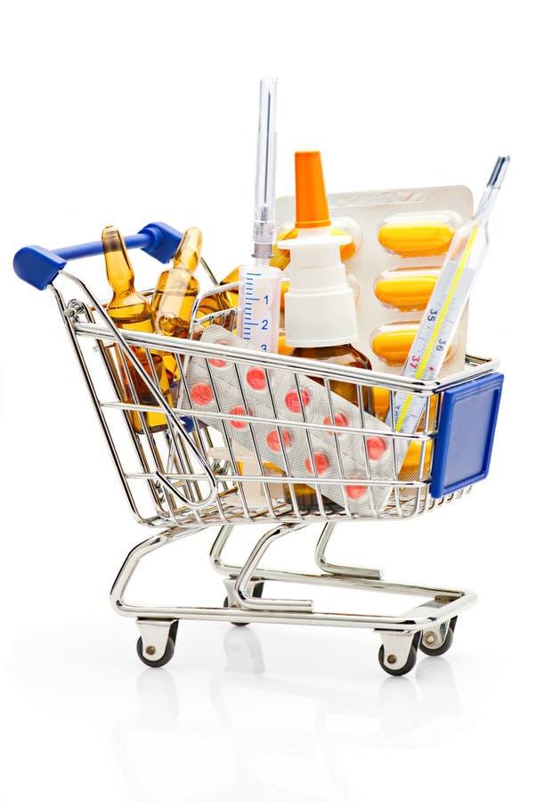 Free Pharmacy Shopping Royalty Free Stock Photo - 16497045