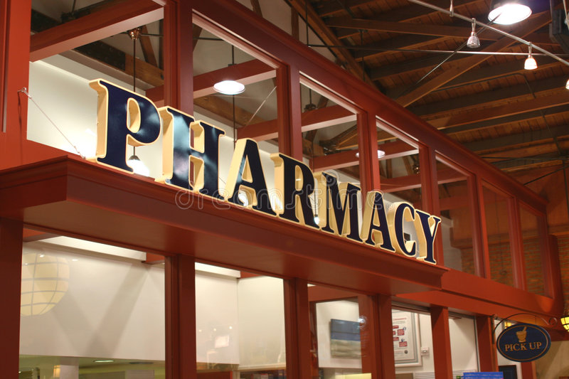 Pharmacy Sign stock photos