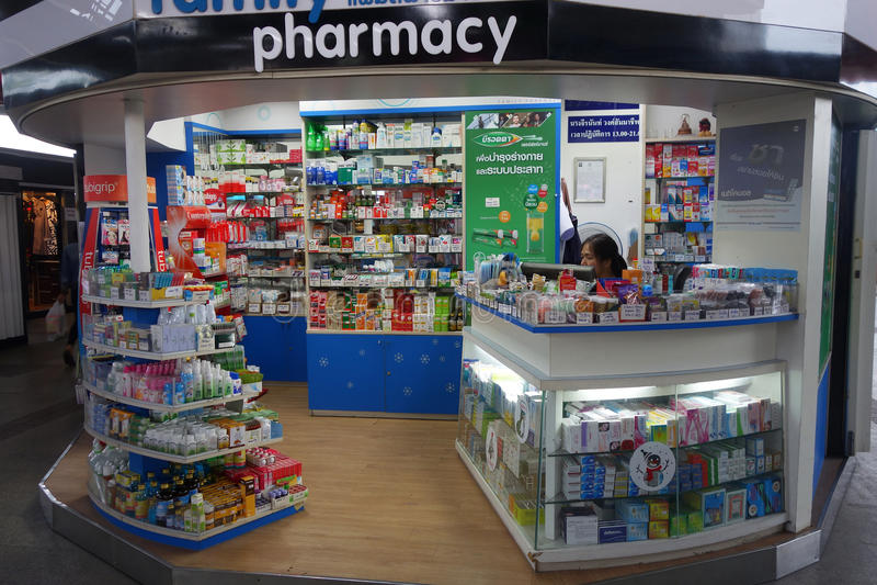 Pharmacy supermarket