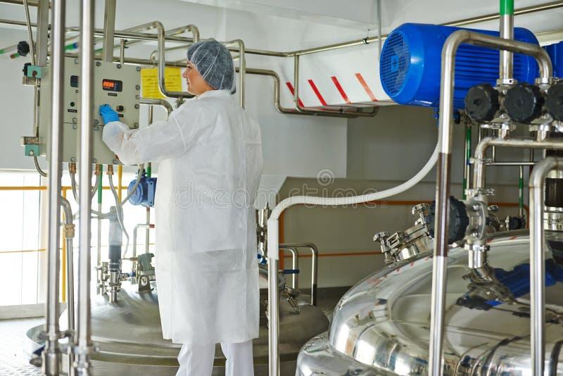 PharmaindustrieArbeiter stockfotografie