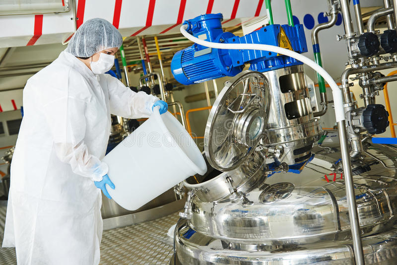 Pharmaindustriearbeitskraft lizenzfreie stockfotografie
