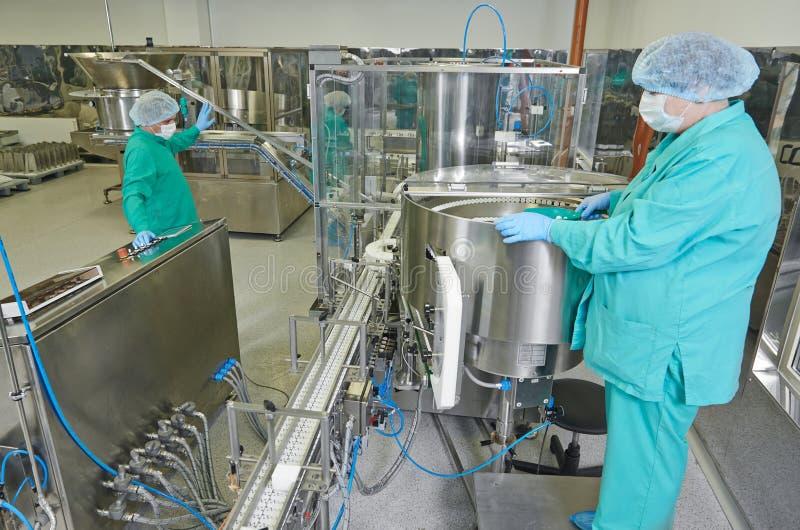 Pharmazeutische Fabrik stockfotos
