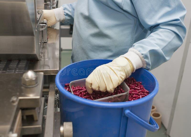 Pharmazeutische Produktion lizenzfreies stockfoto