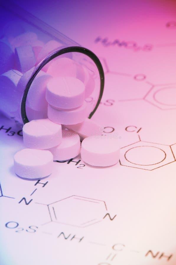 Pharmazeutische Technologie lizenzfreie stockfotos