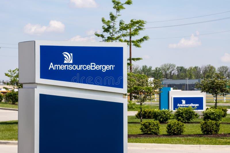 Pharmazeutisches Absatzzentrum AmerisourceBergen Walgreens WBA besitzt eine 26-Prozent-Stange in AmerisourceBergen II stockfoto