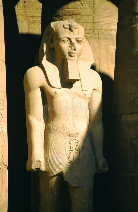 Pharoah de Ramses photographie stock