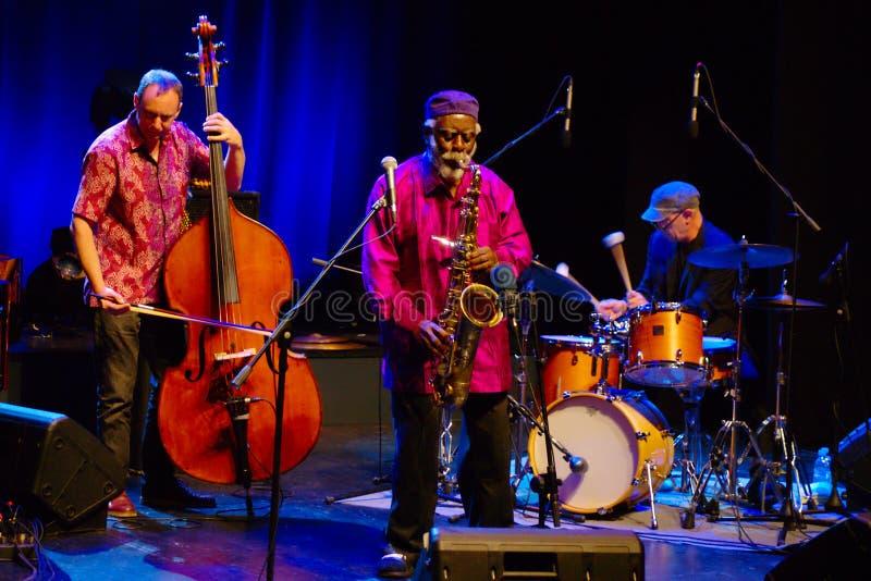 Pharoah Sanders Quartet, JazzLent 2017, Maribor stock photo