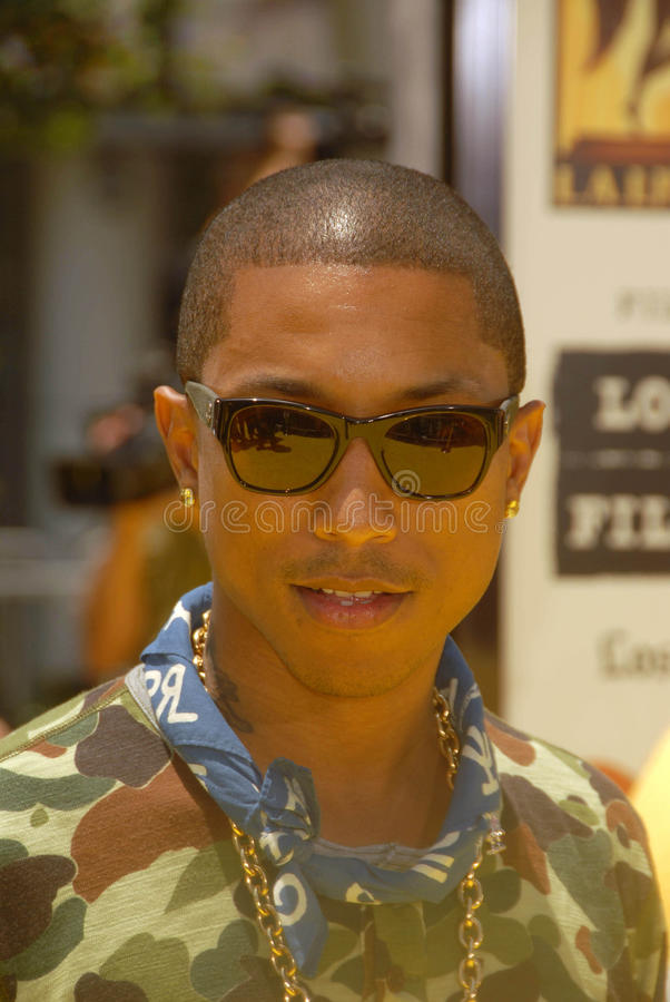Pharrell, Pharrell威廉斯 库存图片