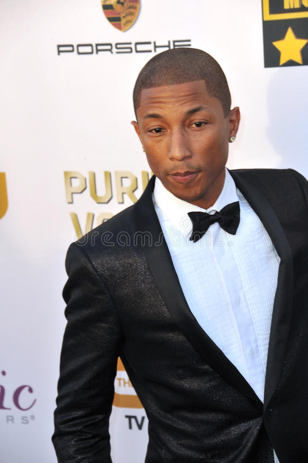 Pharrell Williams photo stock
