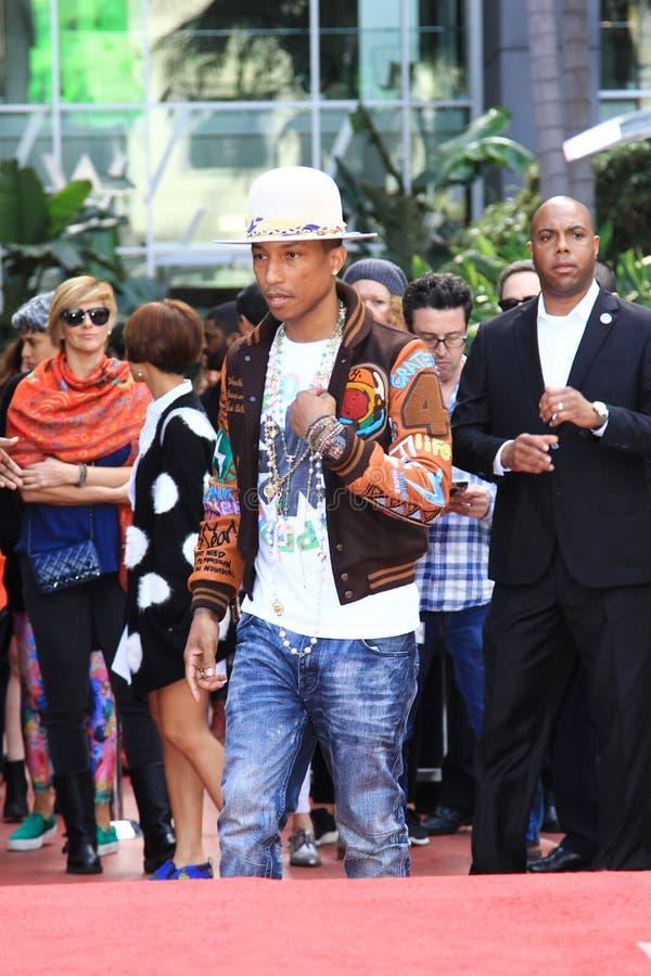Pharrell Williams images stock