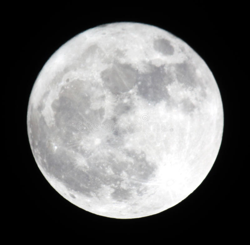 Download Phase Of The Moon, Full Moon. Stock Photo - Image: 18870834