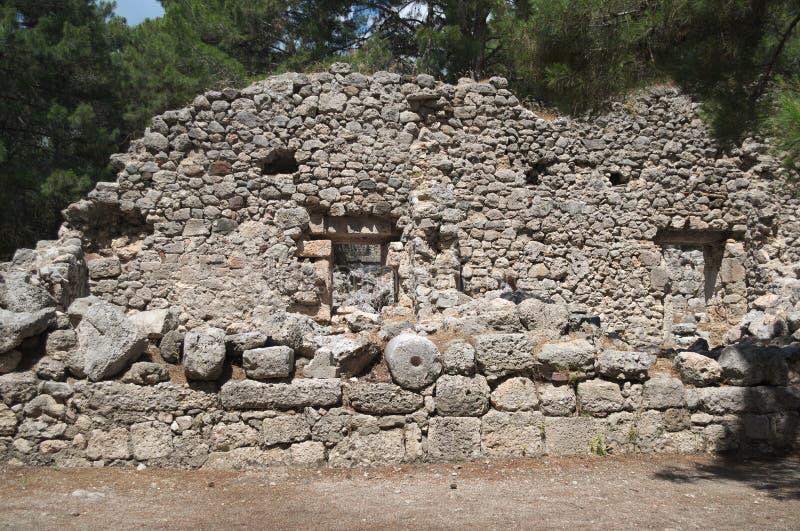 PHASELIS, TURQUIE - 9 MAI 2018 : les ruines de la ville antique photographie stock
