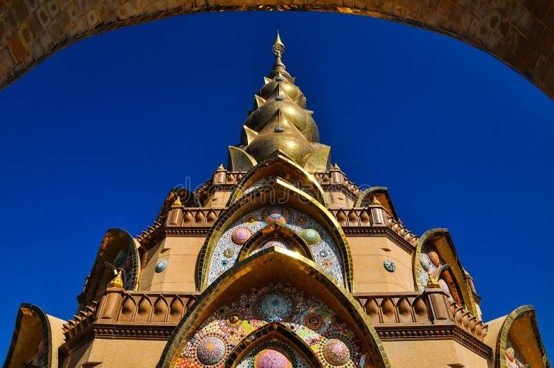 Phasornkaew寺庙 图库摄影