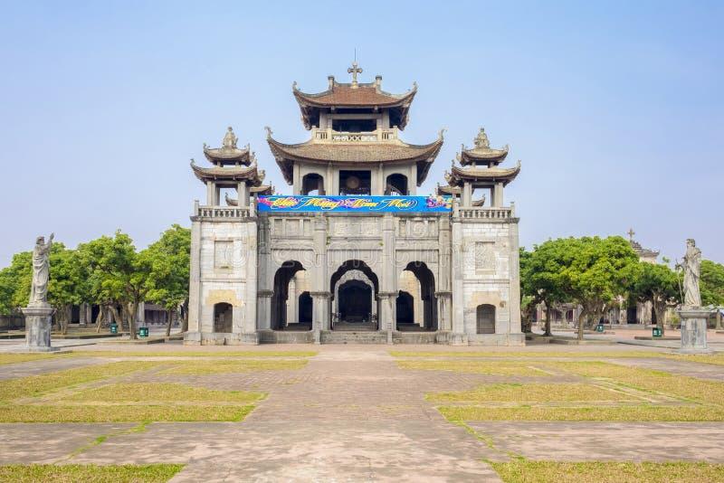 Phat Diem大教堂越南 库存照片