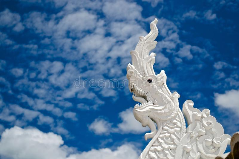 Phaya Nak statue stock photos