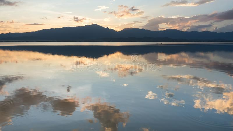 Phayao Lake, Thailand stock image