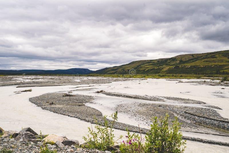 Fluss Durch Alaska