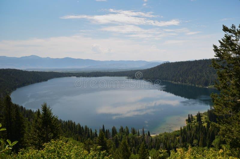 Phelps湖-怀俄明 免版税库存图片