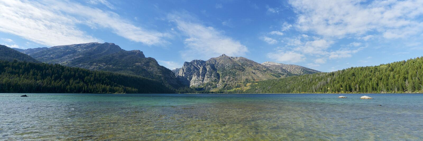 Phelps Lake Grand Teton stock photography