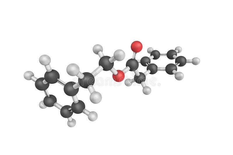 Phenethyl Phenylacetate, als Benzeneacetic-zuur, een fla ook wordt bekend die royalty-vrije stock afbeeldingen