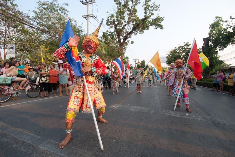 Download Phranakhonkhiri在街道的节日游行2013年 图库摄影片 - 图片 包括有 传统, 欢乐: 30331812