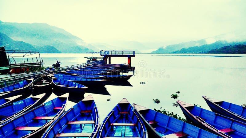 Phewa lake royalty free stock photos