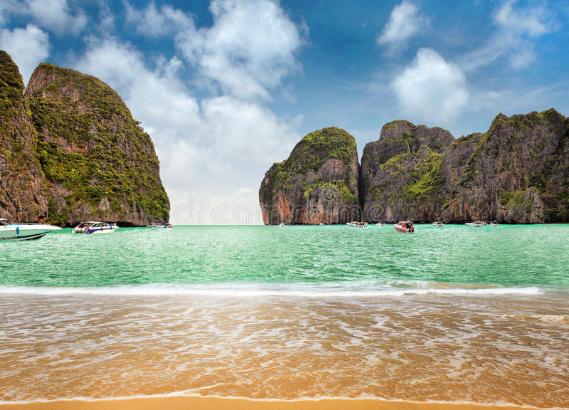 phi νησιών στοκ φωτογραφία με δικαίωμα ελεύθερης χρήσης