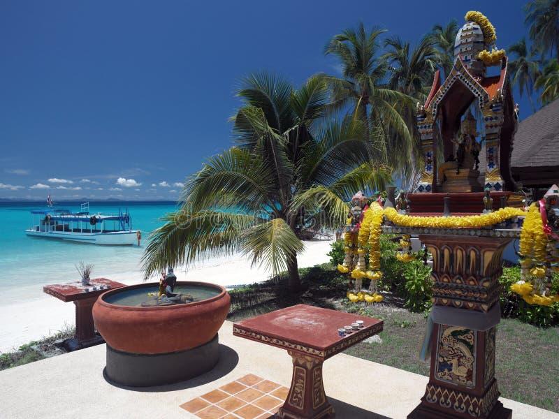 phi Таиланд ko острова стоковое изображение rf