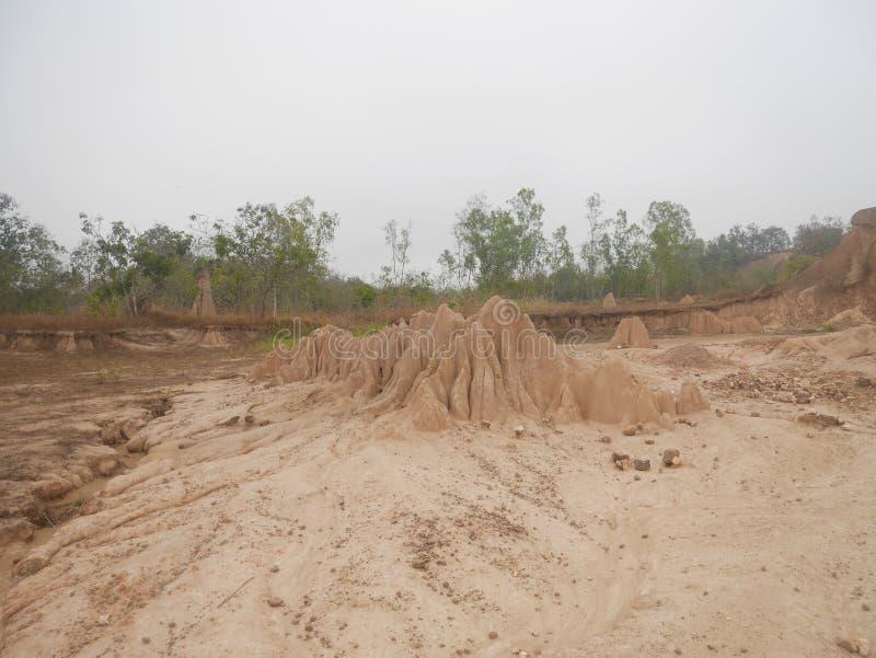 Phi de Phae Mueang dans Phrae chez la Tha?lande image stock