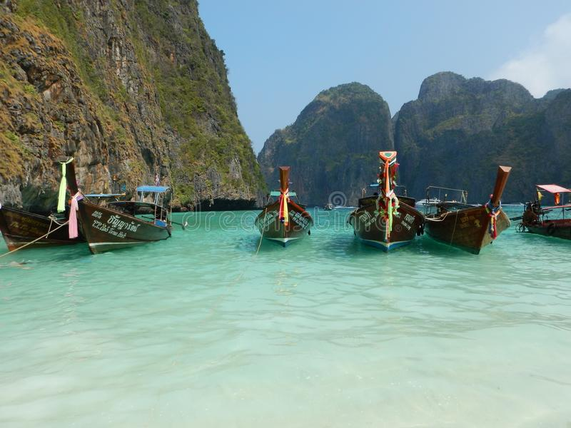 Phi-Phi Islands in Tailandia fotografia stock
