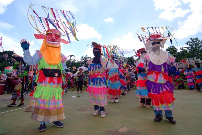 Phi Kon Nam Cultural in Chiang Khan. LOEI, THAILAND - MAY 12, 2017 : Phi Kon Nam Cultural in Chiang Khan, The little-known Phi Kon Nam festival in Ban Na Sao is royalty free stock image