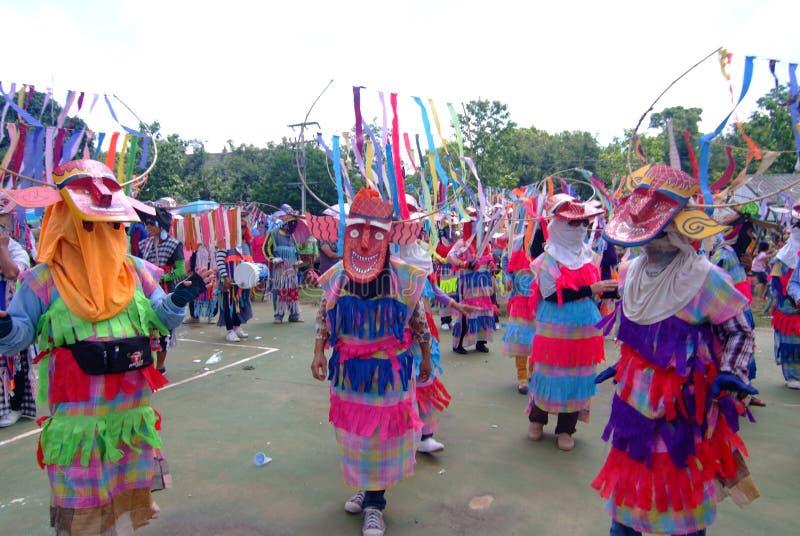 Phi Kon Nam Cultural em Chiang Khan imagem de stock royalty free
