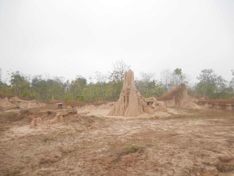 Phi Mueang Phae σε Phrae στην Ταϊλάνδη στοκ φωτογραφίες με δικαίωμα ελεύθερης χρήσης