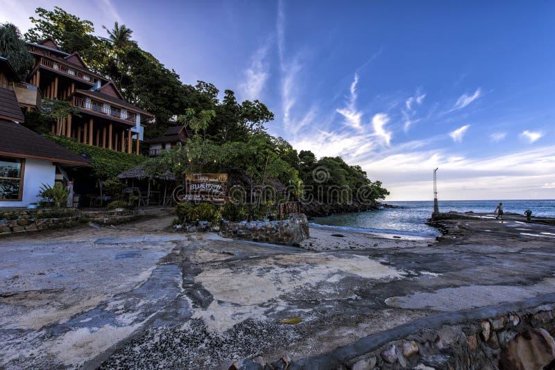 Phi Phi das Strandurlaubsort von Phuket stockfotos