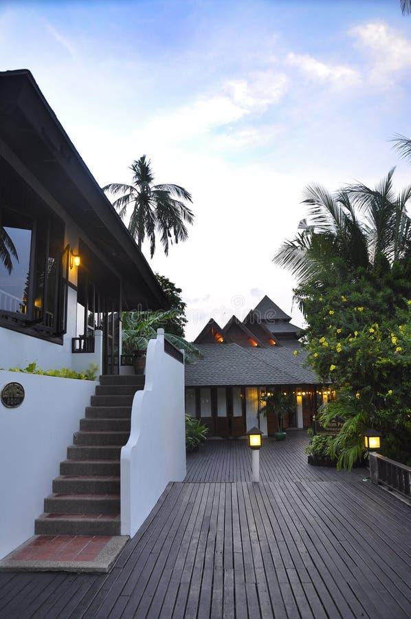 Phi Phi Don Hotels lizenzfreies stockbild