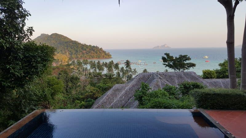 Phi Phi Don Island, mare delle Andamane, Tailandia immagini stock libere da diritti