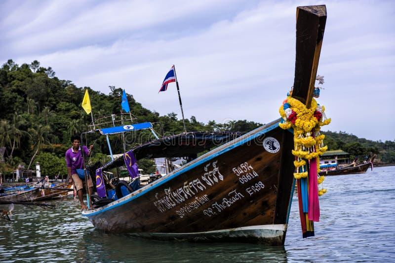 Phi Phi Island von Phuket lizenzfreies stockbild