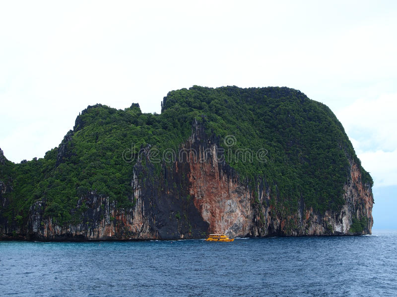 The Phi Phi Islands at Krabi Thailand royalty free stock photography