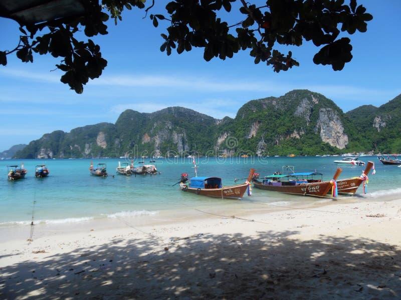 Phi Phi Koh, Таиланд, отсутствие фильтра стоковое изображение