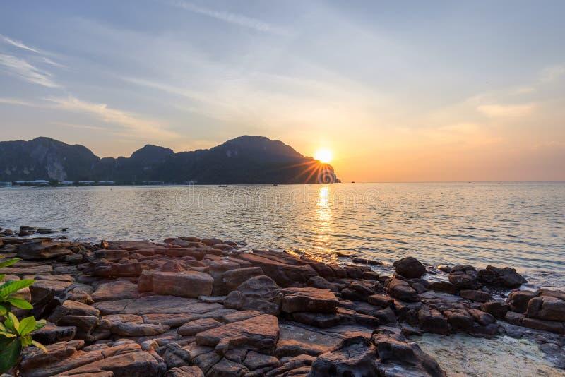 Phi Phi wyspy, Krabi, Tajlandia zdjęcie royalty free