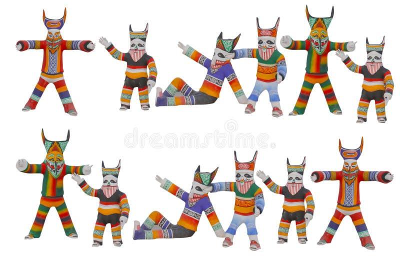 Phi Ta Khon-Festival Thailand stockbild
