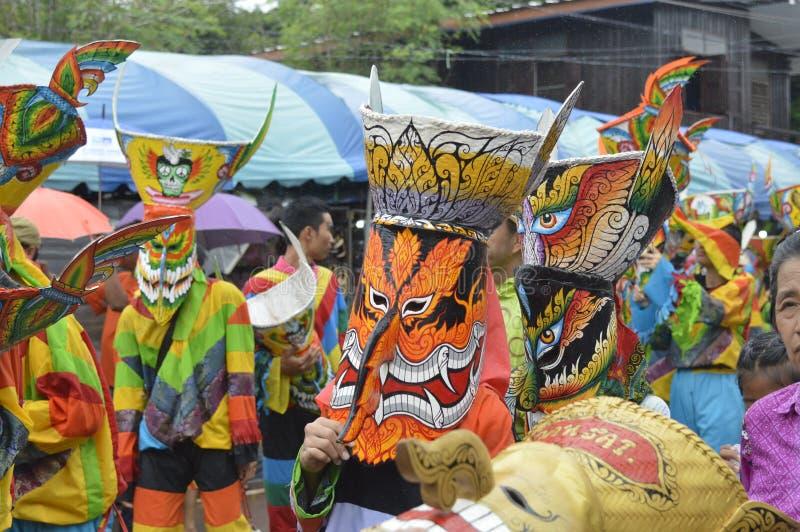 Phi Ta Khon stock photo
