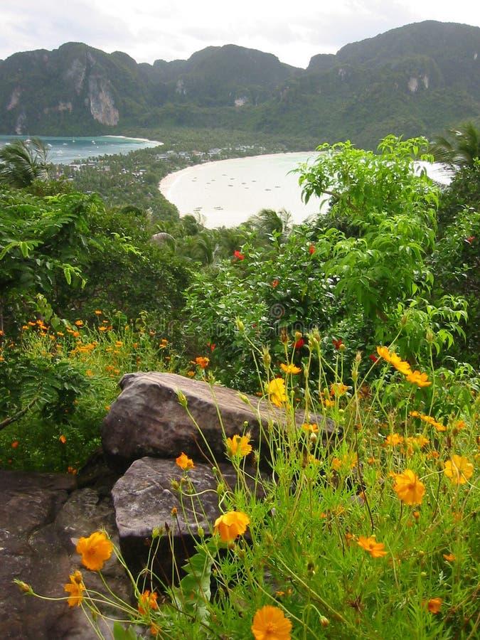 Phi Thailand Viewpont Wyspy Obrazy Stock