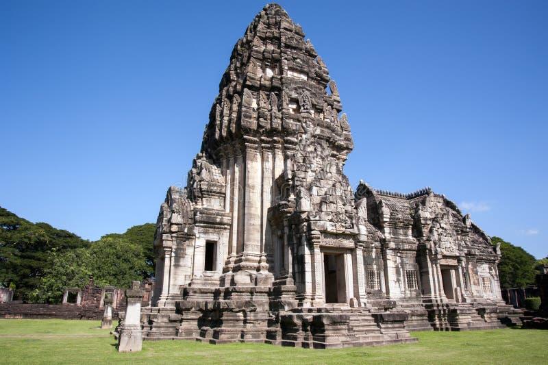 Phi van Prasathin MAI, Historisch Park Phimai stock afbeeldingen