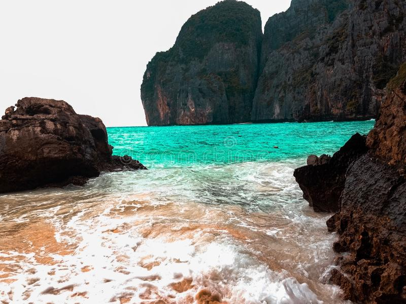 Phi Phi wyspy Tajlandia fotografia royalty free