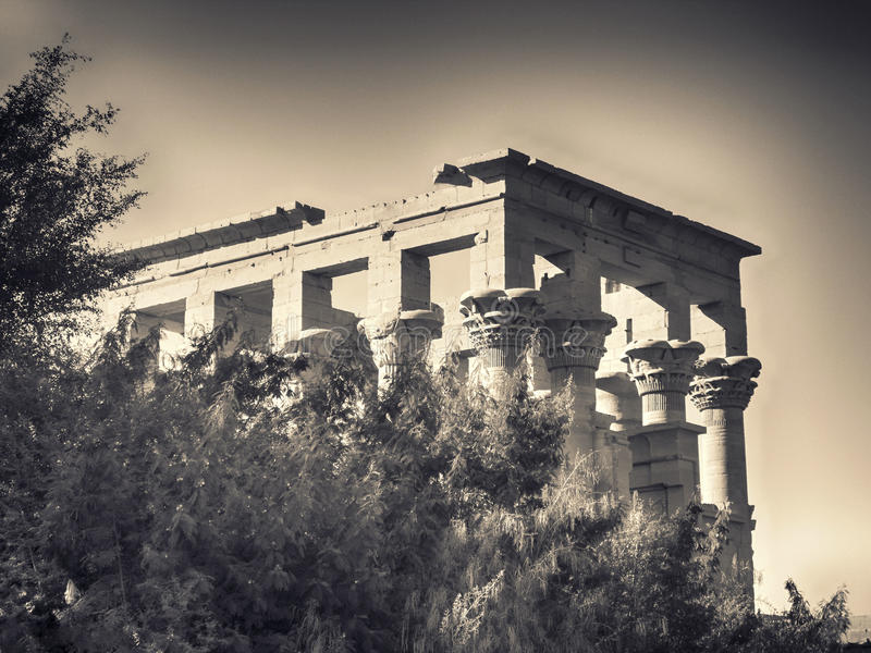 Phiela temple royalty free stock image
