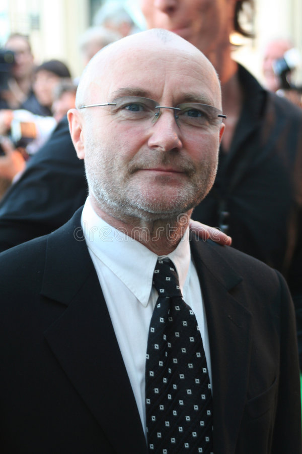 Phil Collins fotografia de stock royalty free