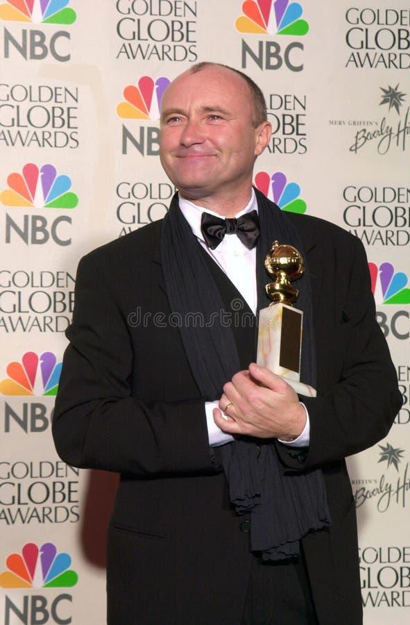 Phil Collins, estrela pop foto de stock royalty free